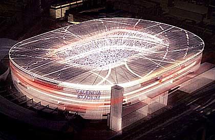 Estadio Arena Valencia Mestalla