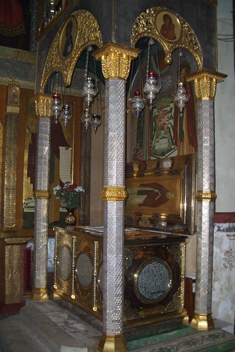 reliques saint Savva Storozevski