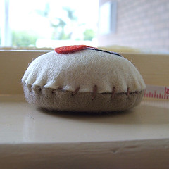 first cupcake tape measure attempt side view