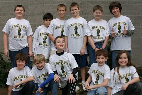 Archer Glen Chess Team