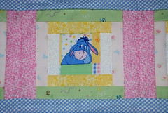 Baby Quilt - Eeyore Square