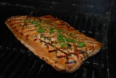 Salmon on the Barbie! photo by HenryFigueroa