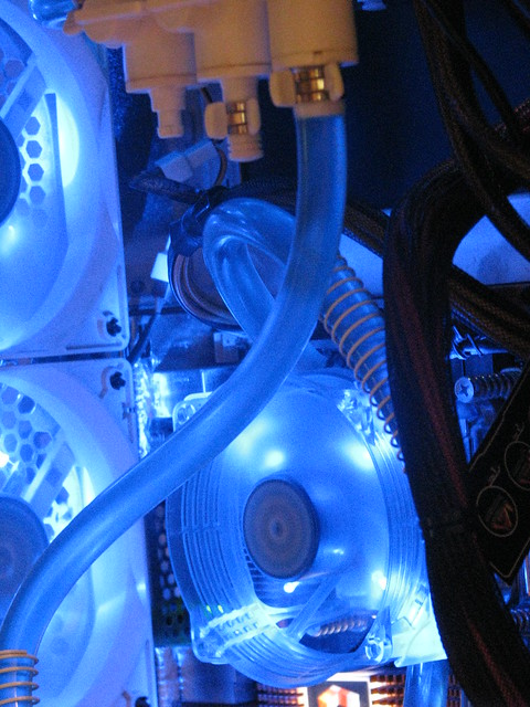 "You have searched for ""My first Water cooled Computer"". You might be interested in the following threads: EVERYTHING is watercooled"