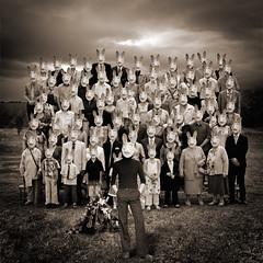 Mad Bunny at daughter's wedding photo by yves.lecoq