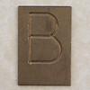 Brass Letter B