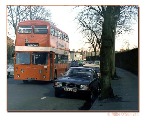 Cardiff Bus 508 WJY756