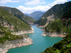 The Evinos river ... photo by antifa