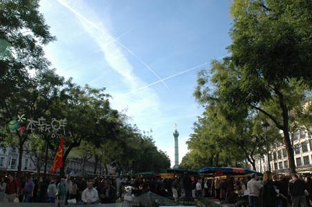 巴黎的巴士底市場