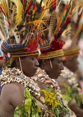 Mount Hagen women - Papua New Guinea photo by Eric Lafforgue