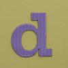 card letter d