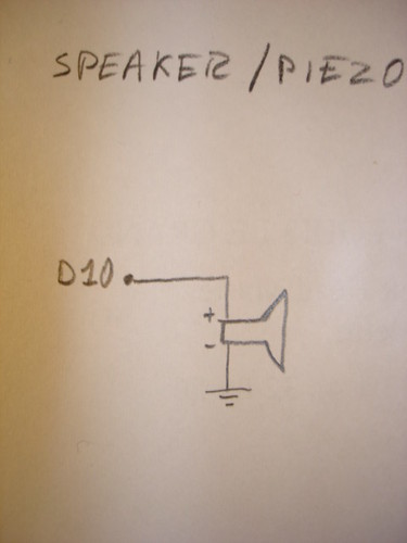 Arduino Theremin speaker schematic