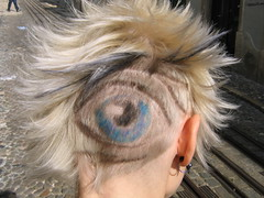 "hair cut hairdesign ""the eye"" photo by wip-hairport"