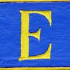 E - ELINA, blågul