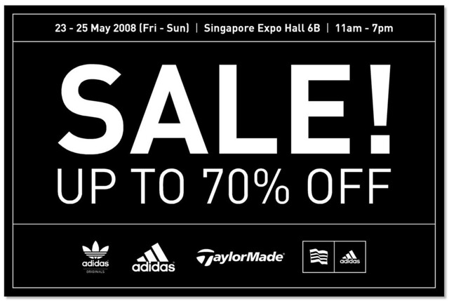 adidas Singapore Expo Sale | Flickr - Photo Sharing!