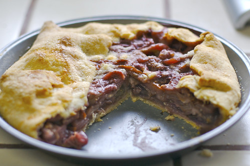 Grape/Pear Pie