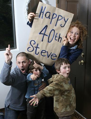 Steve is 40 :-)