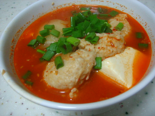 Kimchi Fish Paste Soup