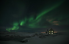 Northern lights photo by olgeir