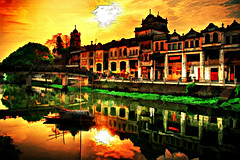 Painting, Kaiping, China photo by hk_traveller