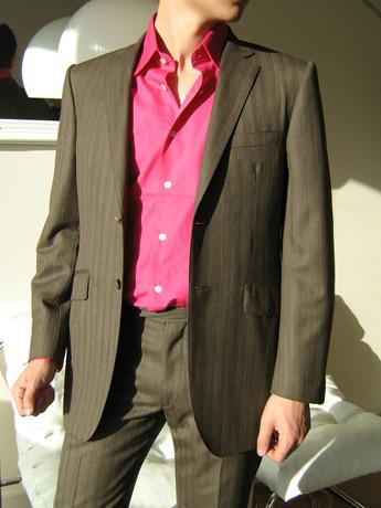 hommesdinfluence club assortir un costume marron apparence. Black Bedroom Furniture Sets. Home Design Ideas