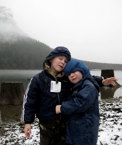 boys at rattlesnake lake