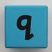 Alphabet Block q