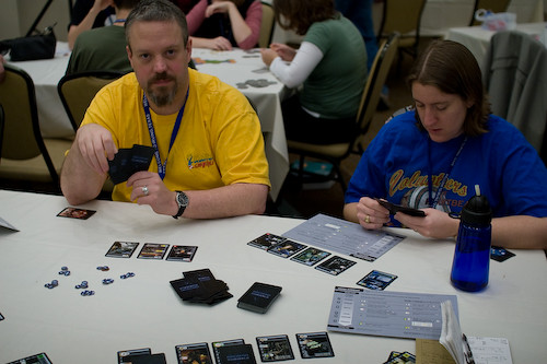 Race for the Galaxy with Tim and Carrie