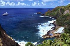 Pitcairn Island Harbor photo by brad.schram