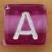 Bead Letter A