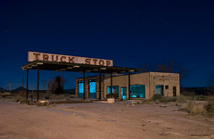 Truck Stop photo by Noel Kerns