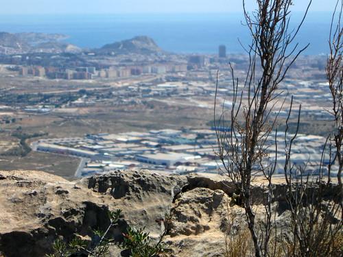 Alicante desde Fontcalent