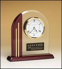 BC919 - Acrylic Clock Award