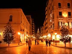 Italy - Taranto - Christmas lights photo by Max Perrini alias IK7TOE