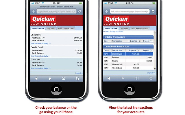 Quicken Online - Check in from your iPhone | Flickr - Photo Sharing!