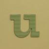 card letter u