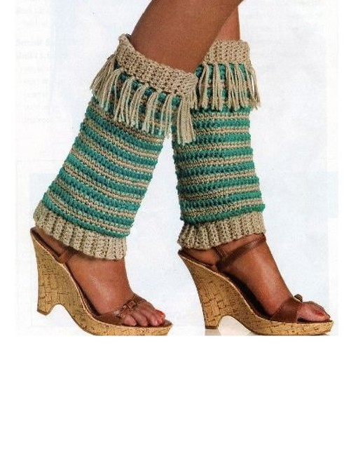 Peggy's Leg Warmers - Interweave