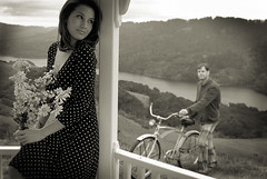 LadyAndTheBicycle2 photo by D_m_i_t_r_y