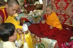 President Hup Cheng, Geshe Tenzin Zopa, Phuntsok Rinpoche photo by Tenzin Phuntsok Rinpoche