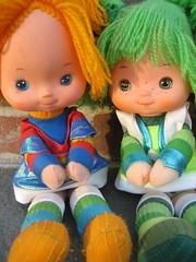 rainbow brite & patty o'green photo by cybermelli