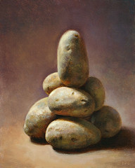 Potato Cairn photo by Dan P. Carr