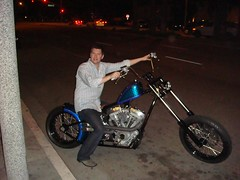 me on Sean's XXL bike