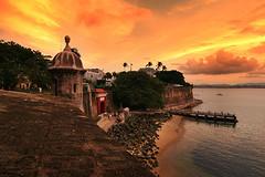 Sunset in San Juan Puerto Rico photo by flickrgao