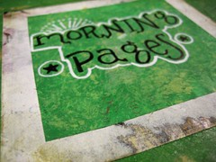 Morning Pages Journal (detail)