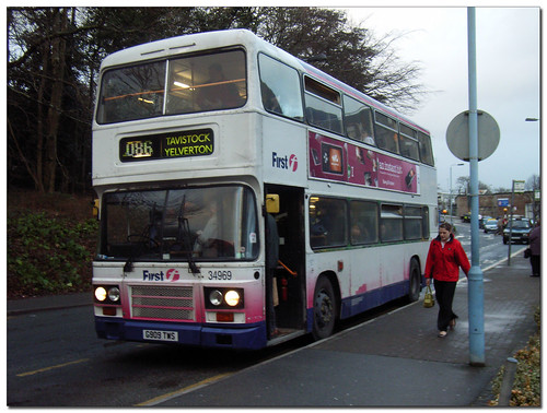 First Devon and Cornwall 34969 G909TWS