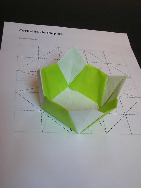 New Origami Money Flower Pot Instructions