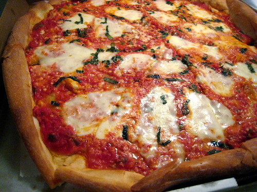 Fresh Mozz Pie from Peppe's Pizza and Pasta (by Slice)