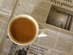 Coffee & news photo by jimiliop