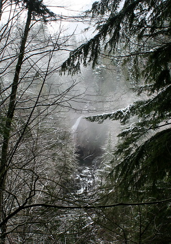 Lower falls from the overlook