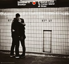 Subway Love photo by Violet Kashi