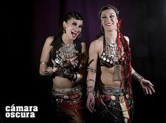 Emilie Brisset & Marta Eres // Danza Fusion Tribal photo by camara oscura estudio